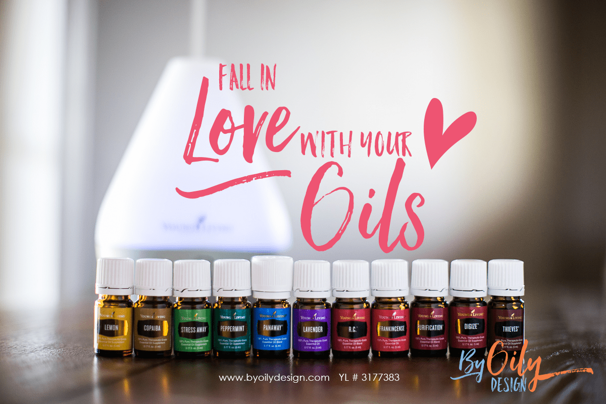 Fall in love with your oils. A newbies guide to figuring out this whole oil thing. Starting with your premium starter kit. www.byoilydesign.com YL # 3177383