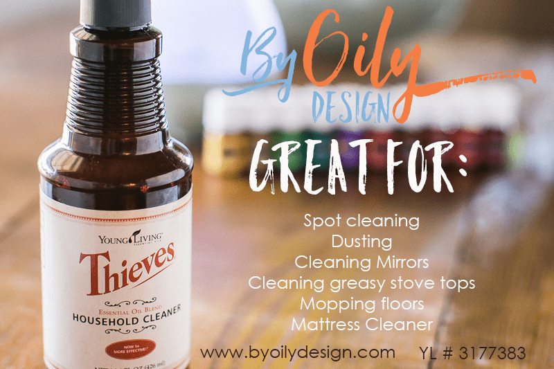 Essential oil household cleaner. This household cleaner is amazing. I can't believe how it cuts thru grease and it's so inexpensive! 1 bottle of concentrate last forever. I love how it smells too. byoilydesign.com