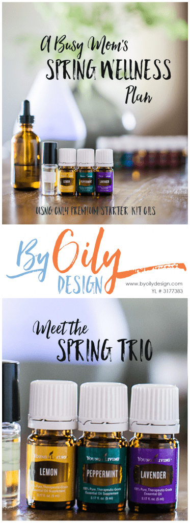 Essential Oil Spring time wellness Trio, LLP, Natural homeopathic tricks for spring wellness, Lemon, peppermint, lavender, essential oil trio. byoilydesign.com Yl#3177383