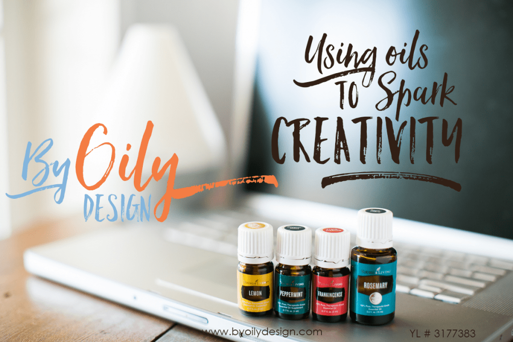 Using Essential Oils to spark creativity and help concentration - By Oily Design