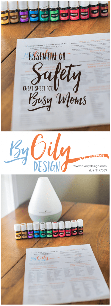 Are you using essential oils safely on your family? Essential Oil safety cheat sheet for busy moms. a free printable safety cheat sheet for essential oil use with kids and pregnant moms. byoilydesign.com YL member # 3177383