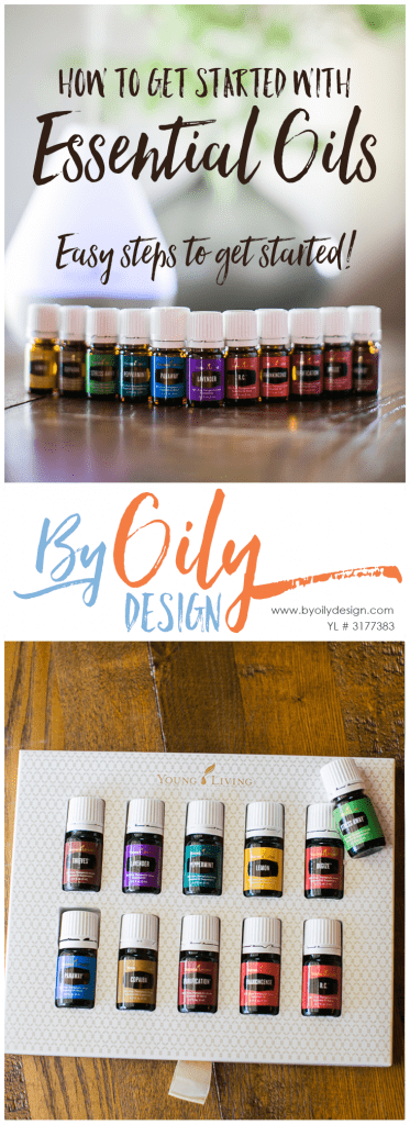 How to get started using Essential Oils. Teaching busy mom's how to get started using essential oils. Easy steps to beginning to use essential oils. All Young living starter kit oils. byoilydesign.com YL member # 3177383