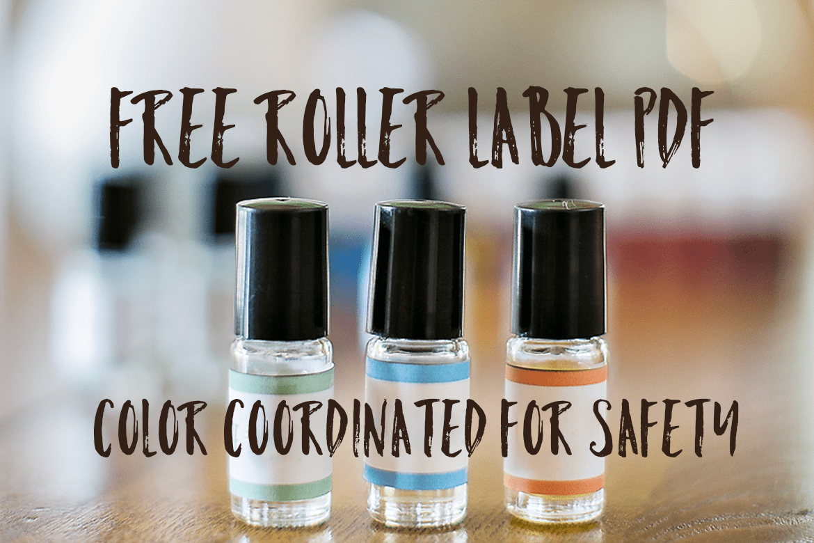 photograph about Printable Essential Oil Labels identify No cost vital oil security rollerball printable - Via Oily Style and design