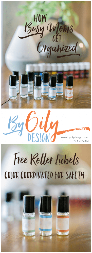 Free essential oil safety rollerball printable. Free printable label pdf for Essential Oil Roller bottles. Color Coordinated to help keep your family using Essential Oils Safely. byoilydesign.com, YL #3177383