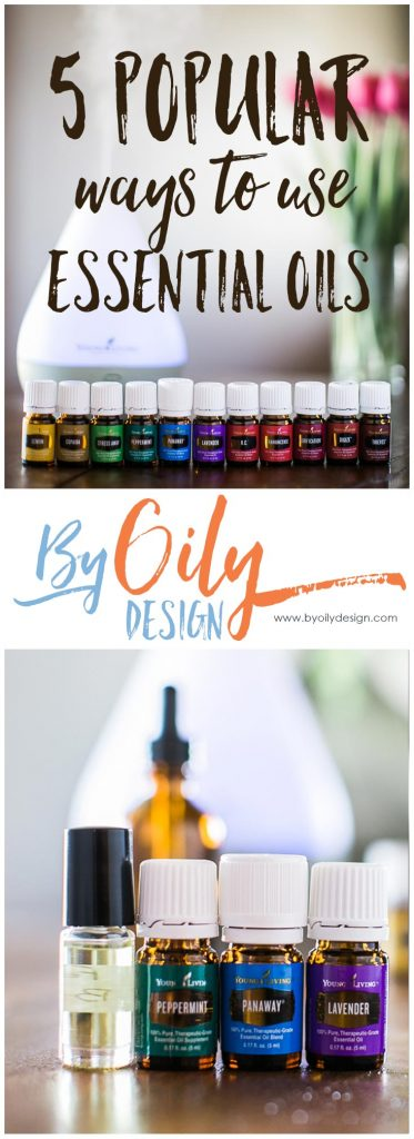 5 popular uses for essential oils. 5 popular uses for essential oils. How to use essential oils in everyday life. Great ideas using your essential oil starter kit.