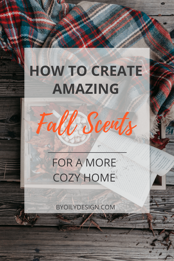 Cozy blanket and hot chocolate showing an autumn inspired cozy scene.
