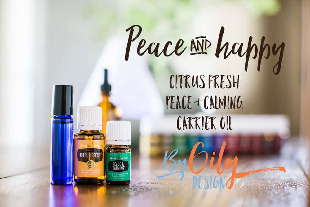 Make your own DIY Perfume. Essential Oil DIY perfume with Citrus Fresh and Peace & Calming essential oils. byoilydesign.com YL member # 3177383