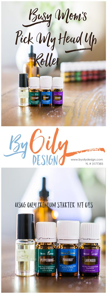 essential oil bottles