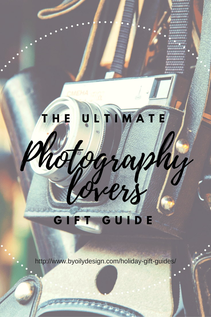 gift guide- photography lovers - by oily design