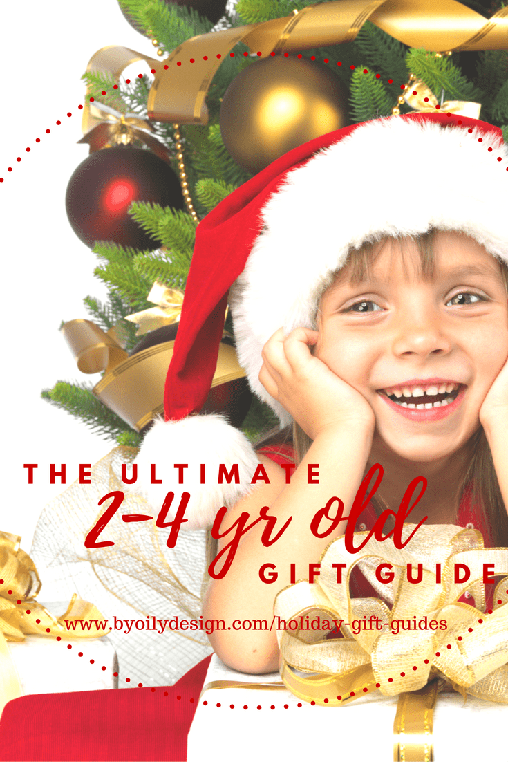 2-4 year old gift guide - By Oily Design