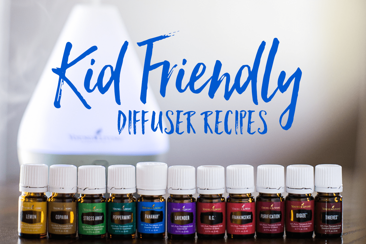 6 Essential Oil diffuser blends for kids that moms love