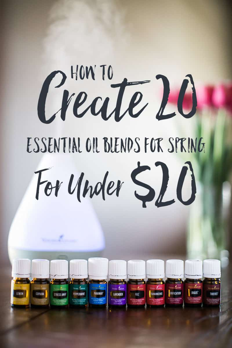 How to save money on the best smelling essential oil blends for spring