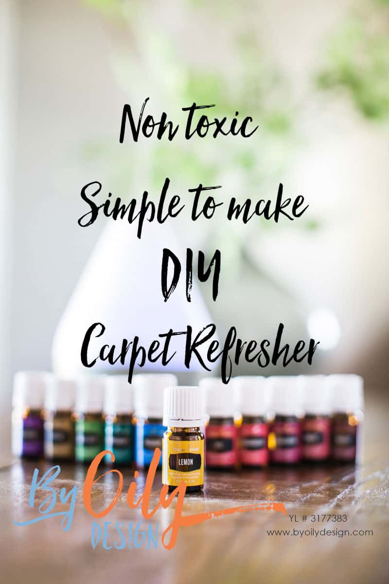 Neutralize house smells with this DIY Carpet deodorizer using baking soda and essential oils. Create a simple non toxic carpet refresher using essential oils. YL #3177383