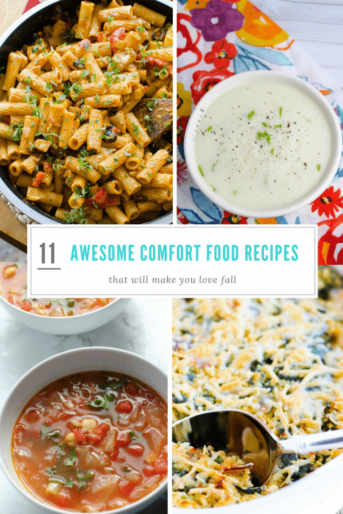 11 Comfort foods you need to try this fall. Fall recipes, easy recipes, easy soups, easy casseroles, Healthy soup, healthy casserole