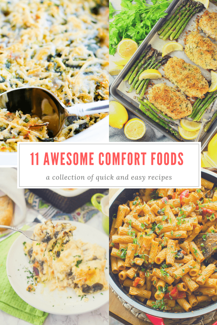 11 comfort food recipes that will make you feel better by oily quick and easy comfort food recipes cold weather dinners soups casseroles and pasta forumfinder Images