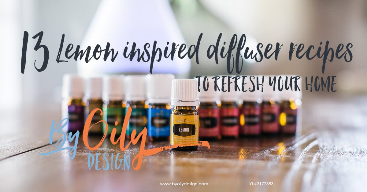 13 Lemon Inspired Diffuser Recipes To Refresh Your Home