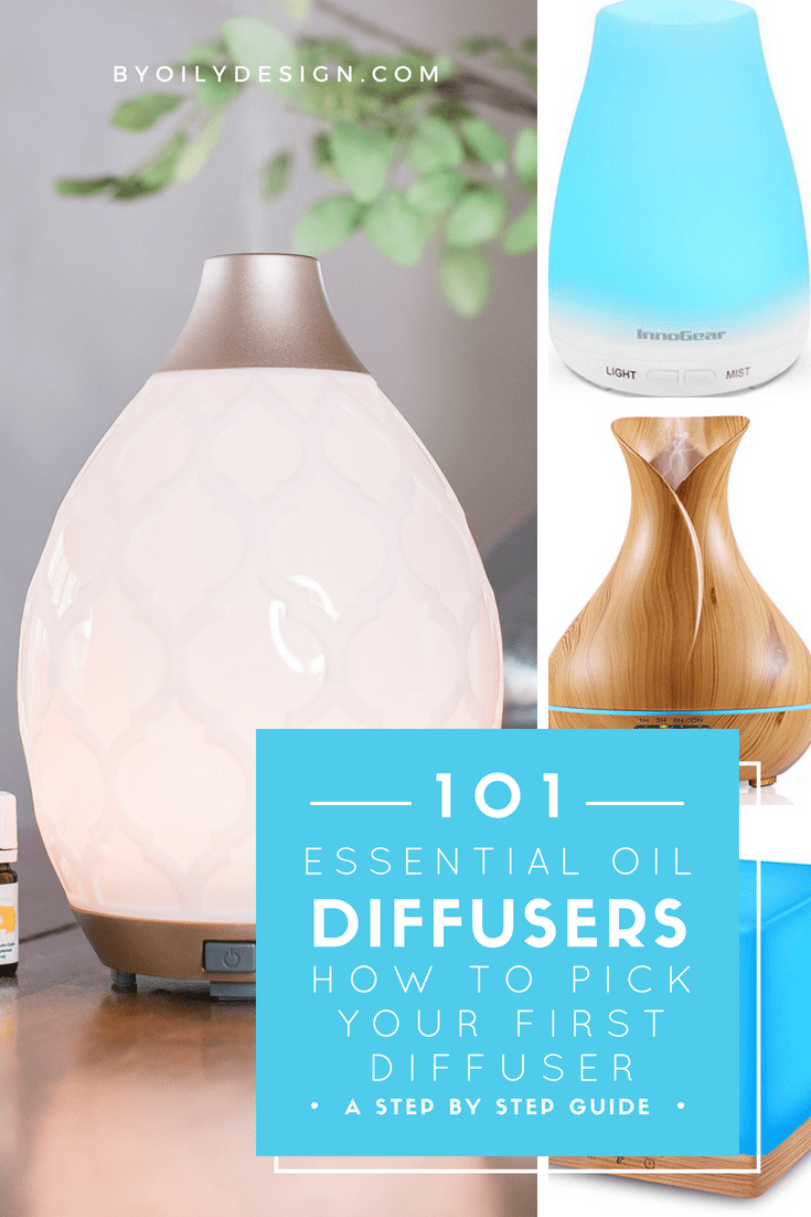 Check out the best essential oil diffuser type for you home. Our readers weigh in on their essential oil diffuser best picks. We even talk about the best essential oil diffuser for sleep, office, kids and large rooms. We review over 15 types of essential oil diffusers in this post. #essentialoils #essentialoildiffusers #byoilydesign www.byoilydesign.com