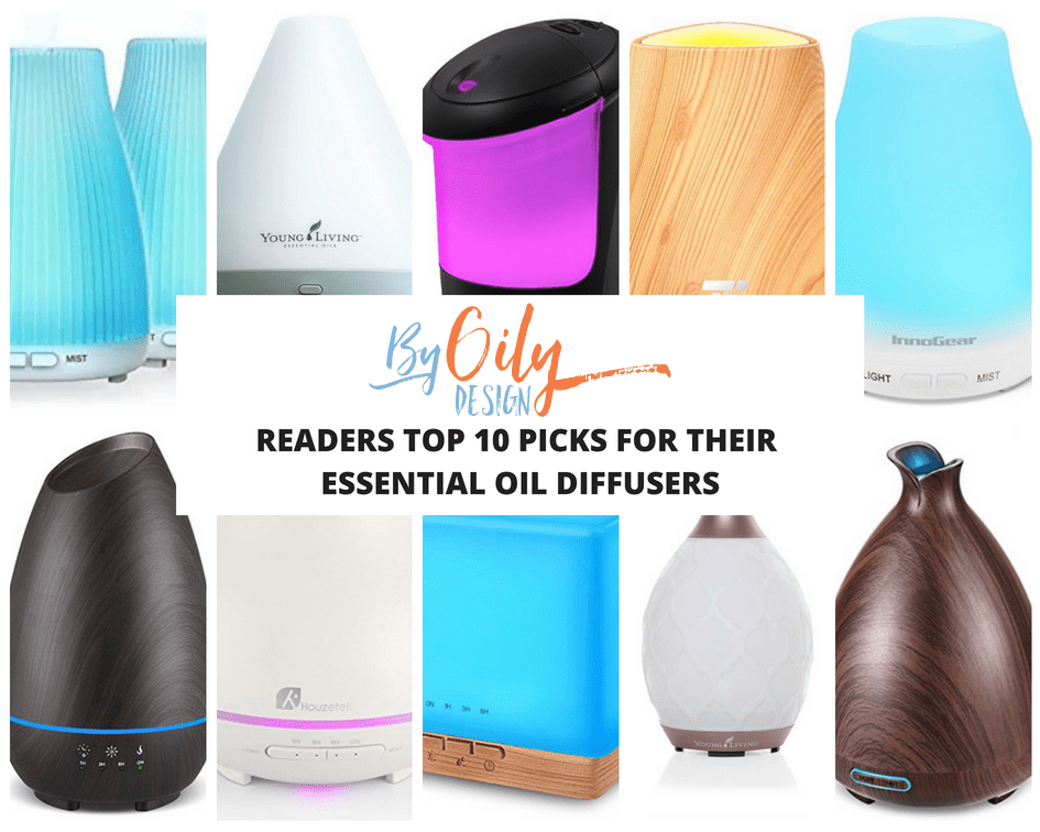 10 essential oil diffuser types