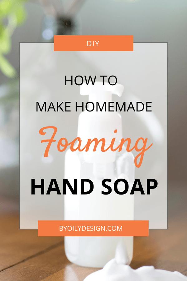 foaming hand soap dispenser