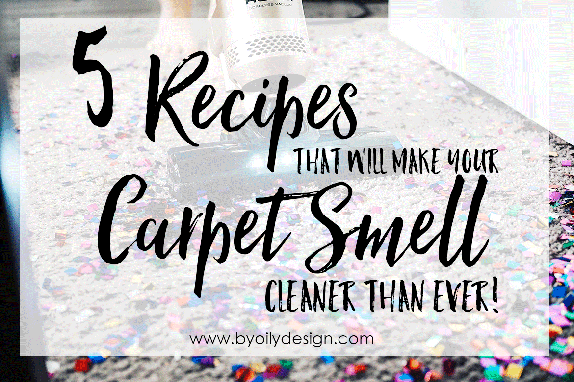 5 Recipes That Will Make Your Carpet Smell Cleaner Than Ever