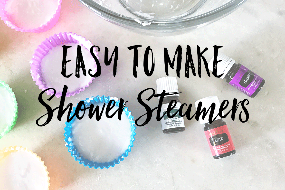 Simple aromatherapy shower steamers you can make quick