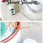 shower steamer recipe laid out