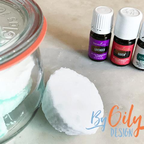 Basic aromatherapy shower steamer recipe