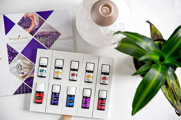2019 young living premium starter kit with desert mist diffuser