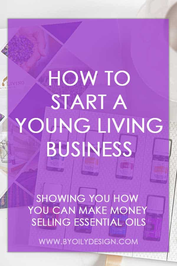 Young Living Premium starter kit with text overlay that says How to start a young living business