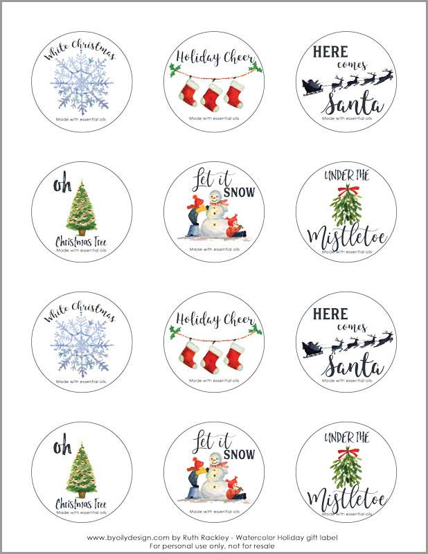 I loved learning how to create these easy Christmas Essential oil room sprays. I'm going to use them for an amazing DIY non-toxic gift to introduce my friends and family to the non-toxic lifestyle. In this post, I found free non-toxic Christmas sprays recipes and the cutest free printable Christmas labels. 6 amazing Christmas scents to give your home a Christmas season feel. #nontoxic #essentialoils #christmasscents