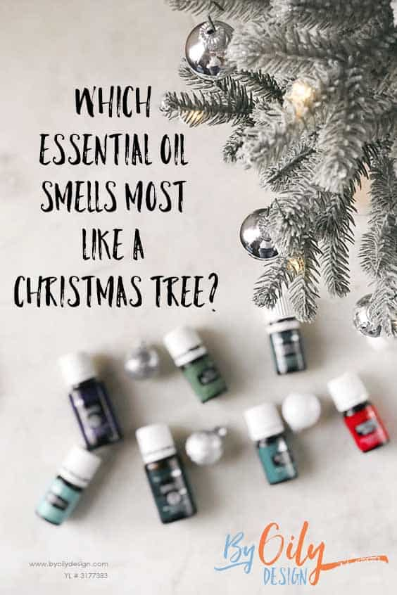Essential oils made from trees