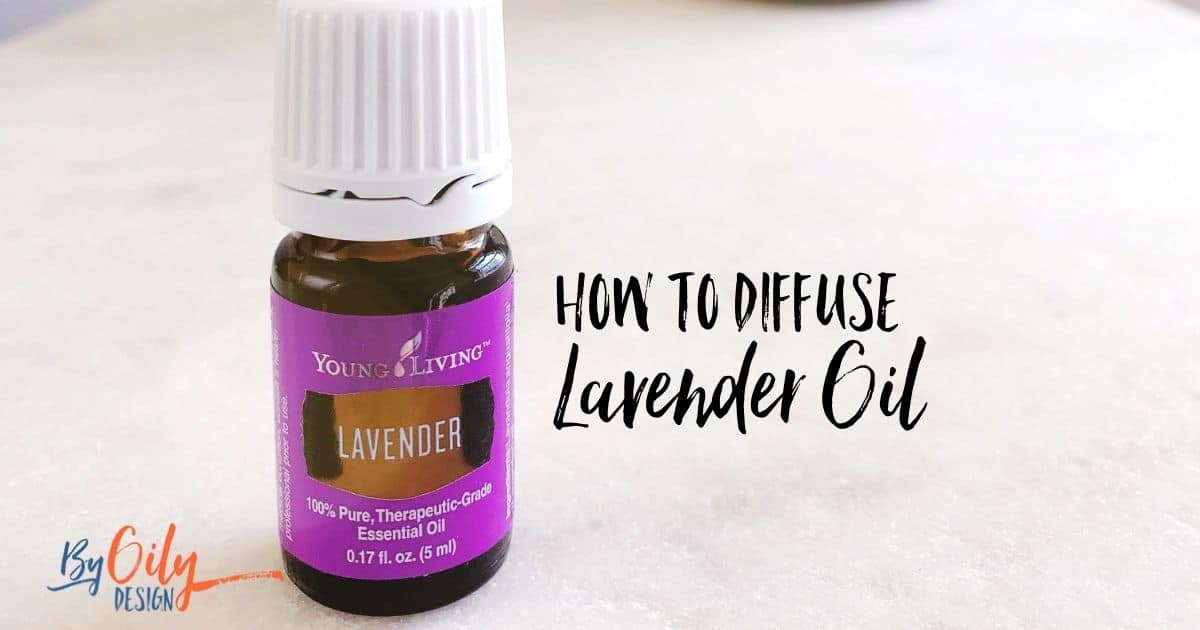 Benefits of diffusing lavender essential oil