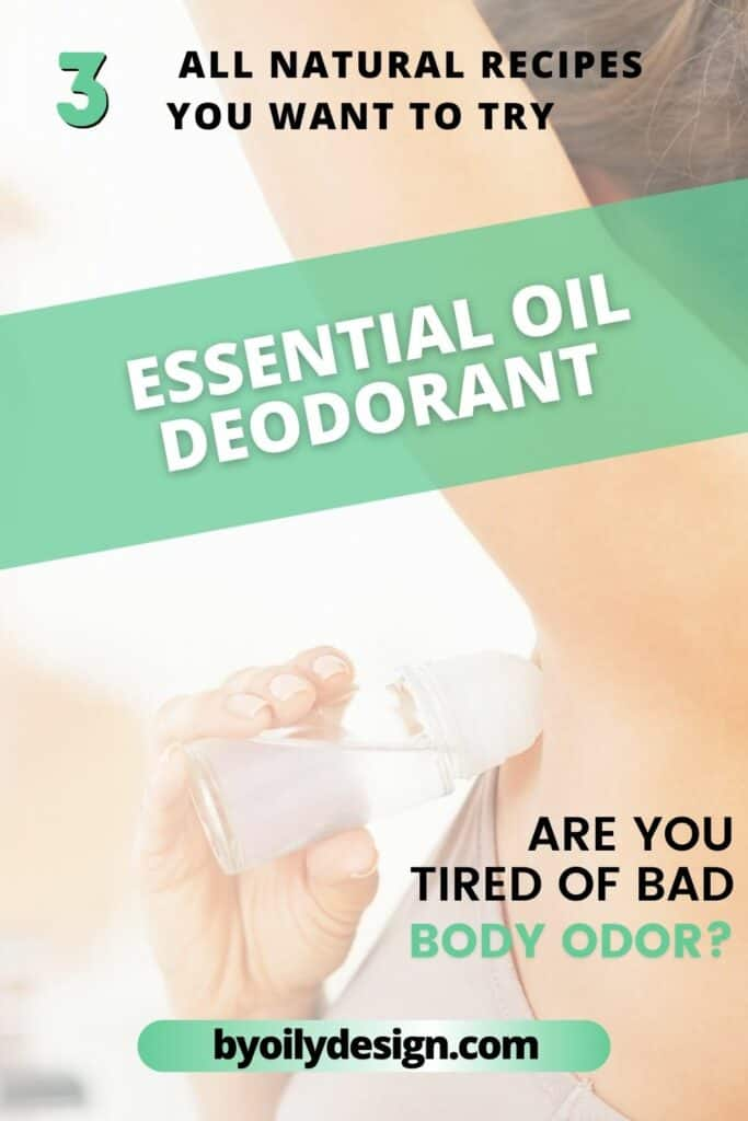 woman applying DIY homemade deodorant showing How to get rid of smelly armpits.